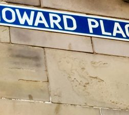 Street sign - Howard Place, St. Andrews, Fife