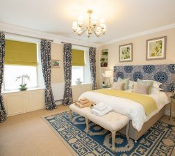 7 bedroom 3 from door with mirrored unit