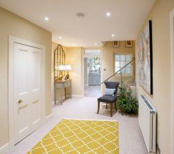7 lower hallway to kitchen